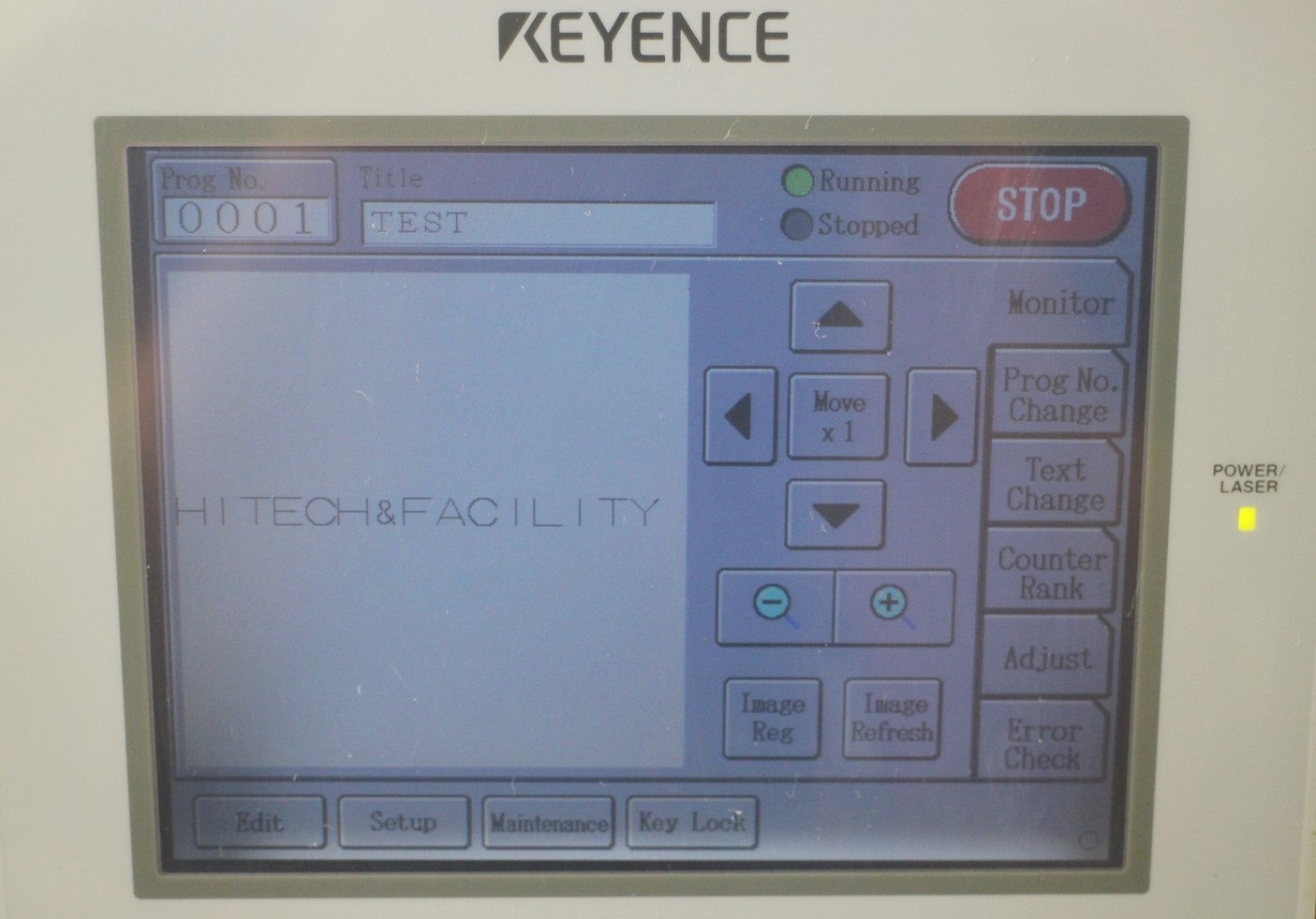 Details about Keyence ML-G9300+9310 High Speed, High power CO2 Laser Marker